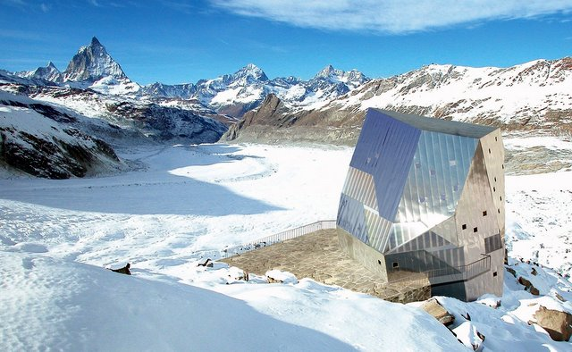 Monte Rosa Hut (Image: ETHZ)