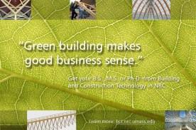 Green building display