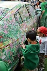 Coloring a Zipcar