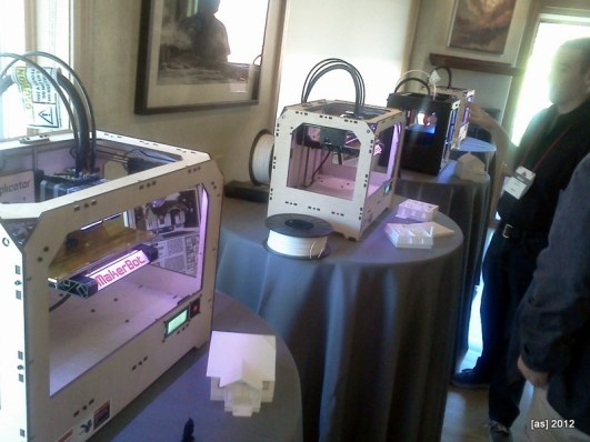 MakerBots in action