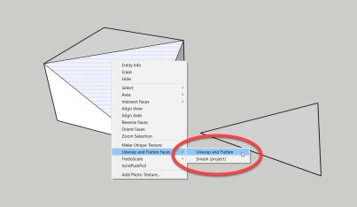 Context menu items