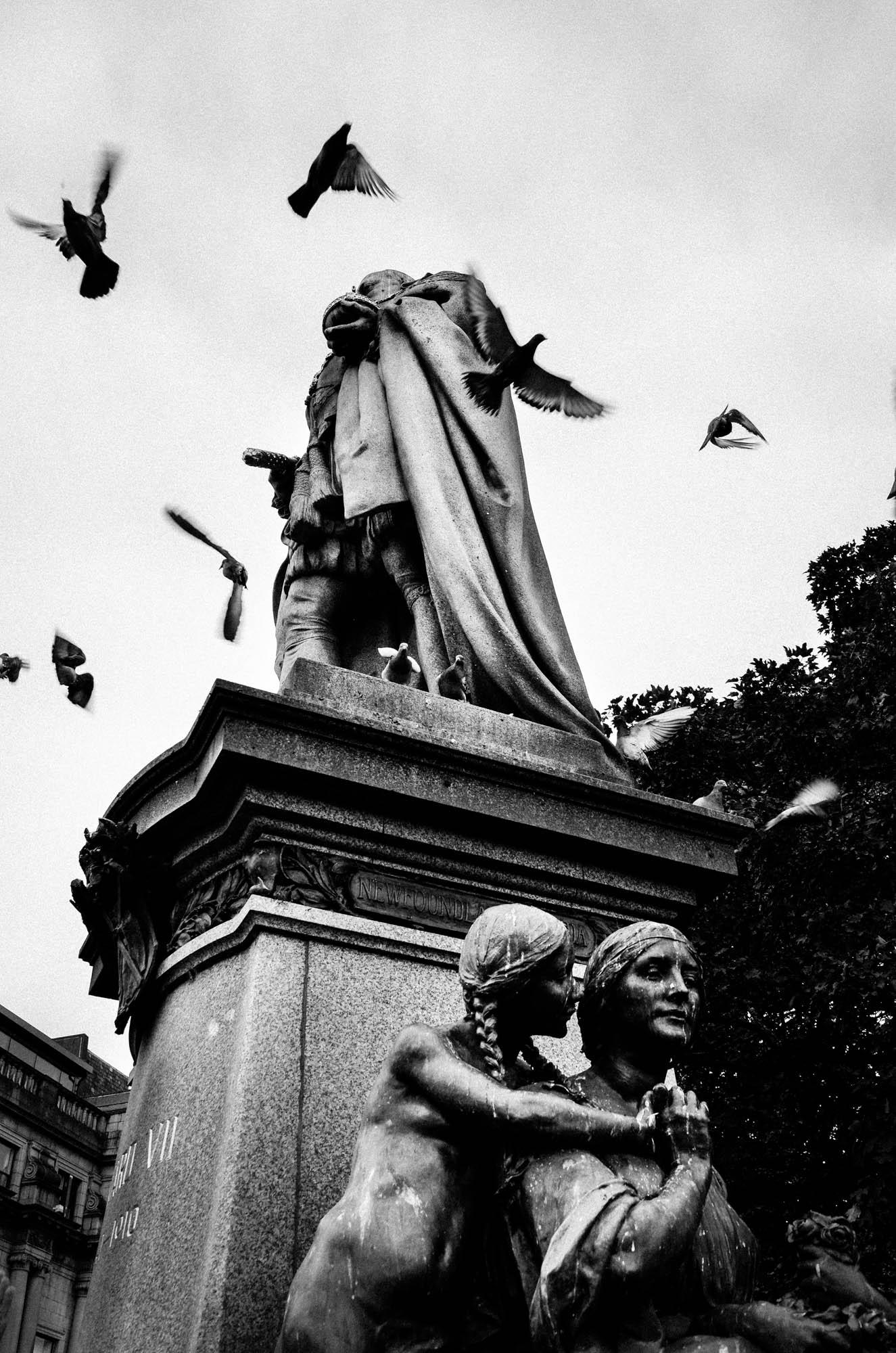 Statue in Aberdeen