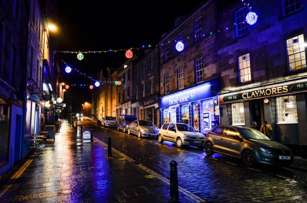 Stirling at night