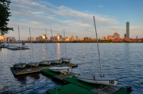Charles River boating