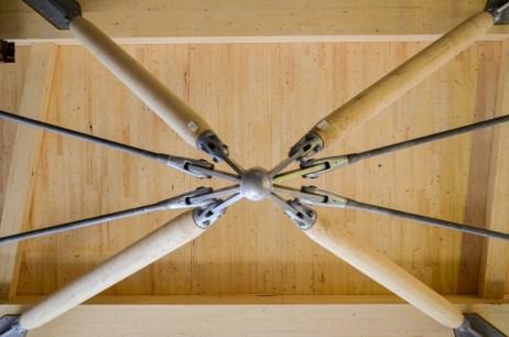 Zipper truss connection