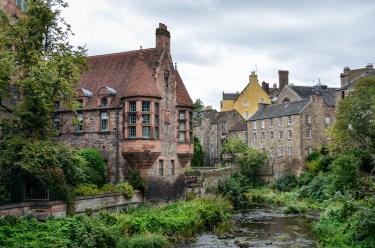 Dean Village in Fall