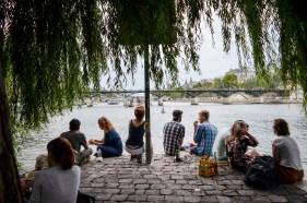 Evening at the Seine