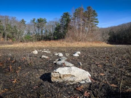 Step stones at Walden Pond