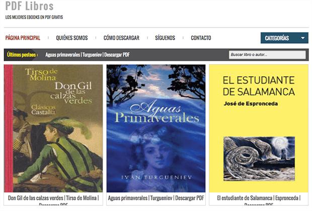 Páginas Para Descargar Libros En PDF Y Epub GRATIS Sin