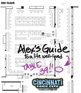 Cincy Comic Expo Map