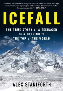Icefall Alex Staniforth Book
