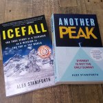 Icefall and Another Peak books by Alex Staniforth