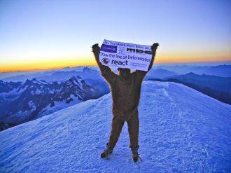 Alex Staniforth Mont Blanc