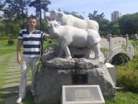 Next to my totem animal :) Рядом со своим животным :)