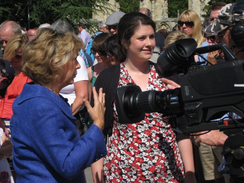 Recording the Antiques Roadshow in 2011
