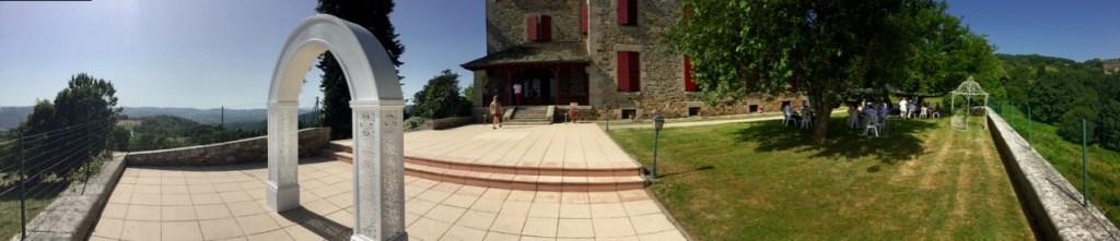 chateau du doux garden