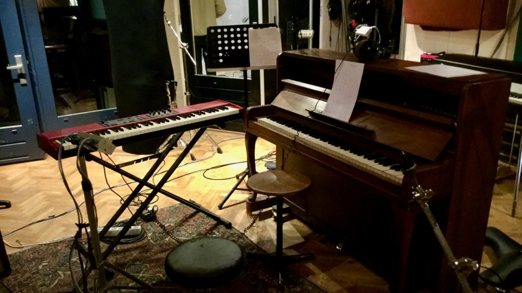 piano at Shenck studio