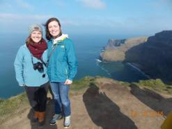 Cliffs with Cara!