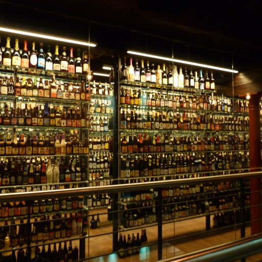 Worlds largest collection of unopened beer bottles