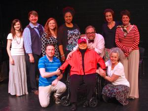 Alex and GHAA faculty members with Barbara Cook, May 2015. Photo Courtesy of Eric Larivee.