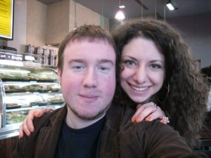 Alex and Lindsay Zaroogian in March 2010.