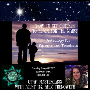"""How to Get Children to Reach for the Stars"", a webinar hosted by the Cosmic Intelligence Agency"