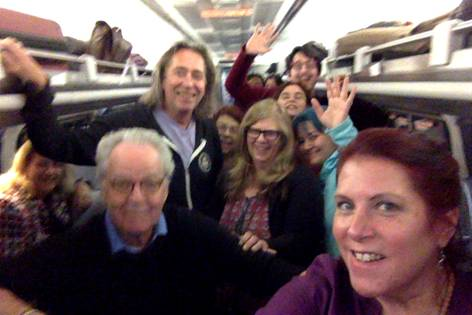 Love Train to UAC conference for astrologers