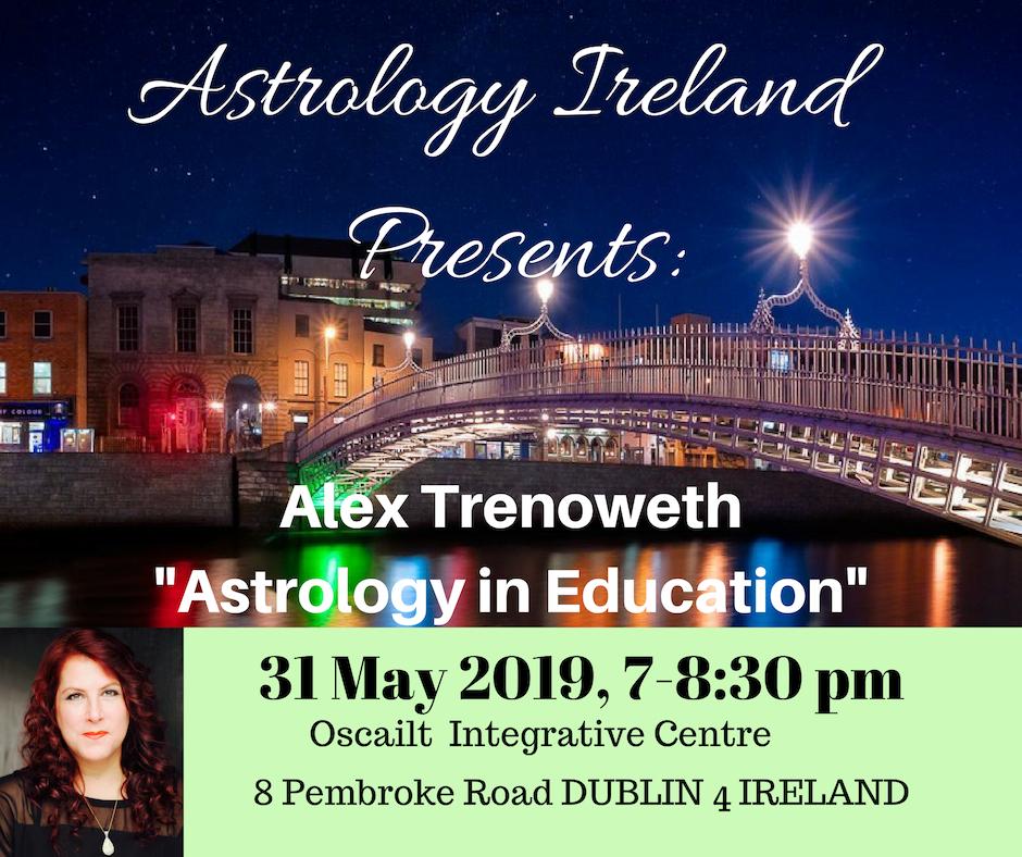 Alex Trenoweth Dublin, lecture schedule