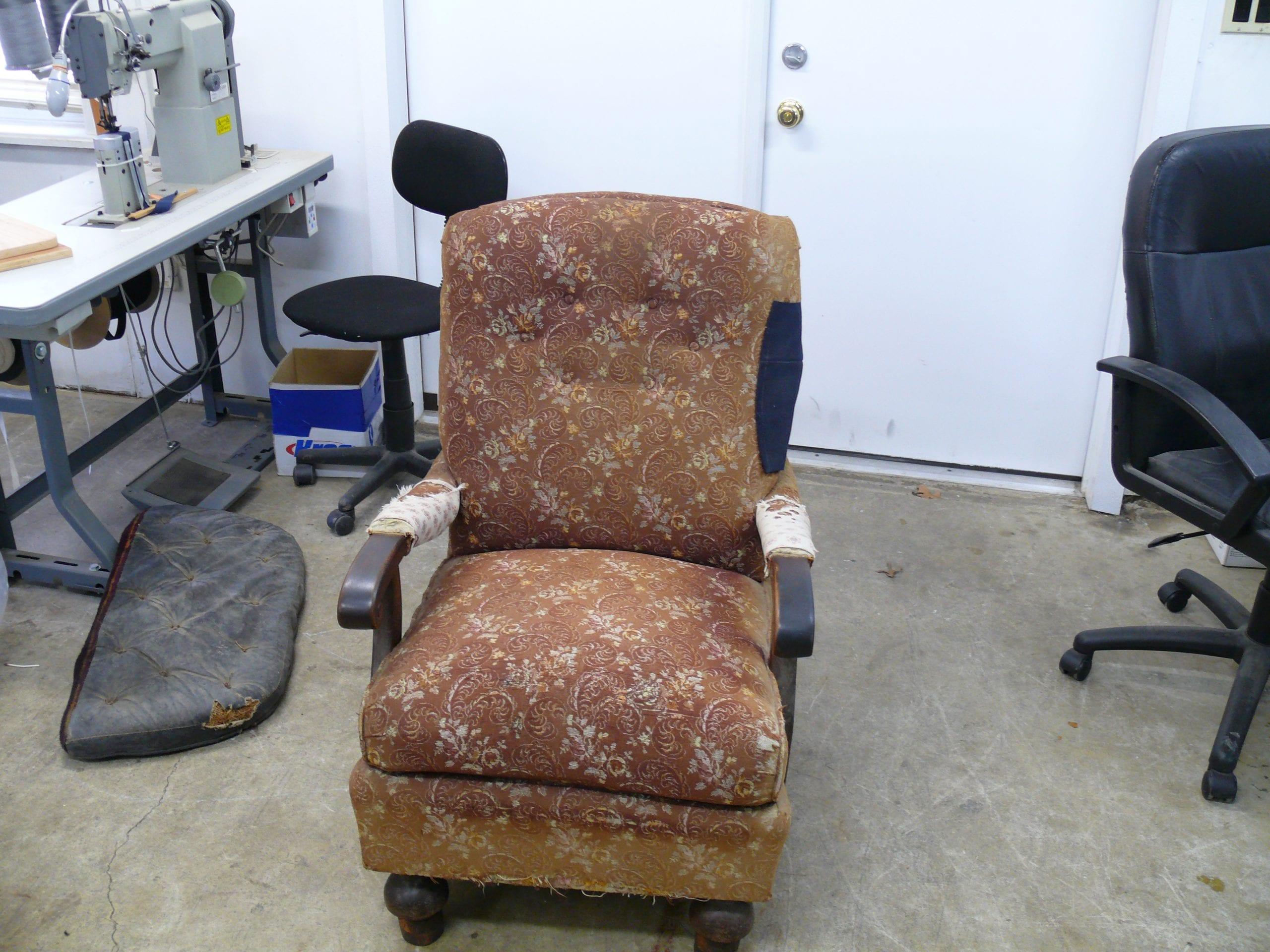 Antique Office Chair Mechanism