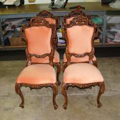 Lazy Boy Rocking Chair Amazon Kneeling Antique Italian Victorian Style Dining Room Set - Upholstery Shop Quality Reupholstery ...
