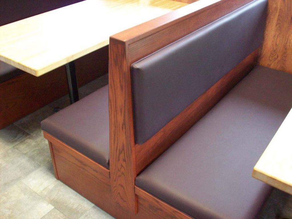 restaurant sofa booth seating brondby if vs fc copenhagen sofascore seats renovation project to its original look