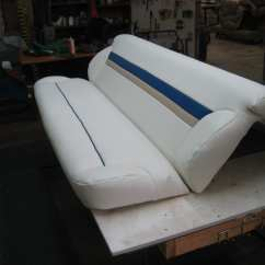 Marine Deck Chairs Cloth Computer Chair Fishing Boat Upholstery Repair For Its Bench Seat - Shop Quality Reupholstery ...