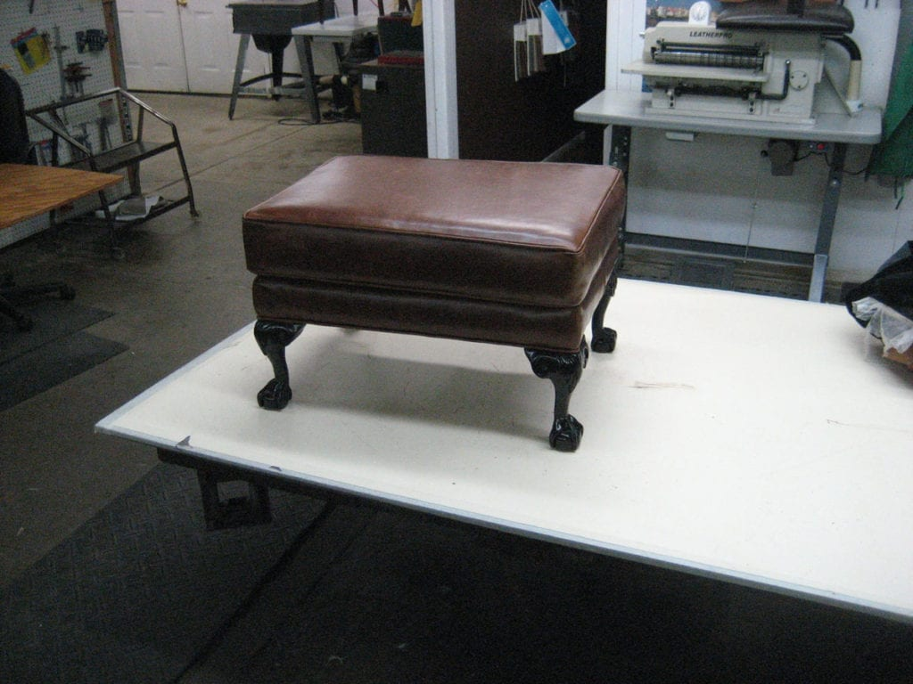 portfolio chair and ottoman portable picnic reupholstery repair upholstery shop