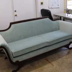 Antique Pullman Sofa Bed Cushion Foam Padding Victorian Style Baci Living Room
