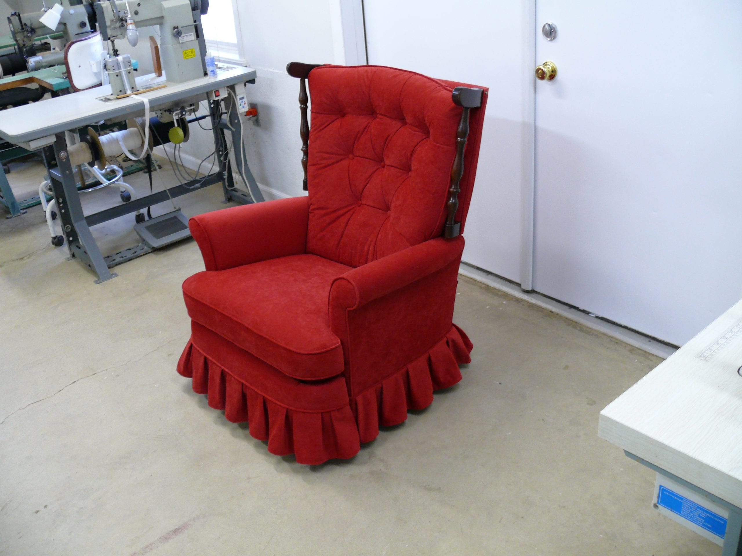 most expensive lazy boy chair target bouncy mid century recliner upholstery shop quality