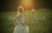 love is difficult