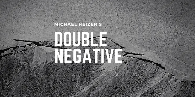 Michael Heizer's Double Negative