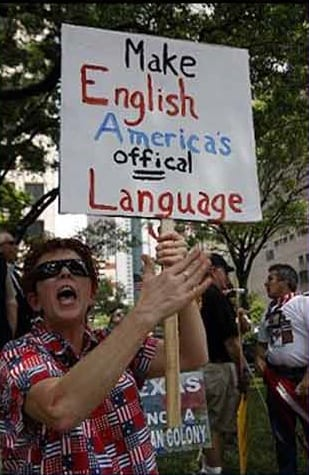 Make English America's offical language