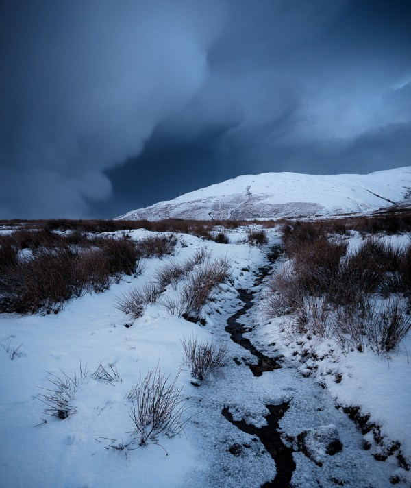 Lake District Calendar Snow