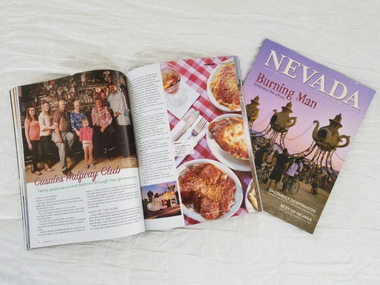 Aleza Freeman in Nevada Magazine