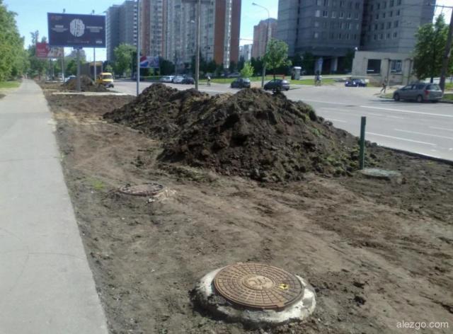 замена газонов