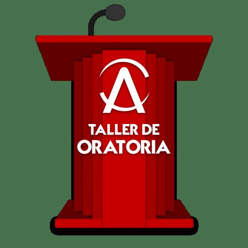 Alfa Capacitación Taller de Oratoria Logotipo
