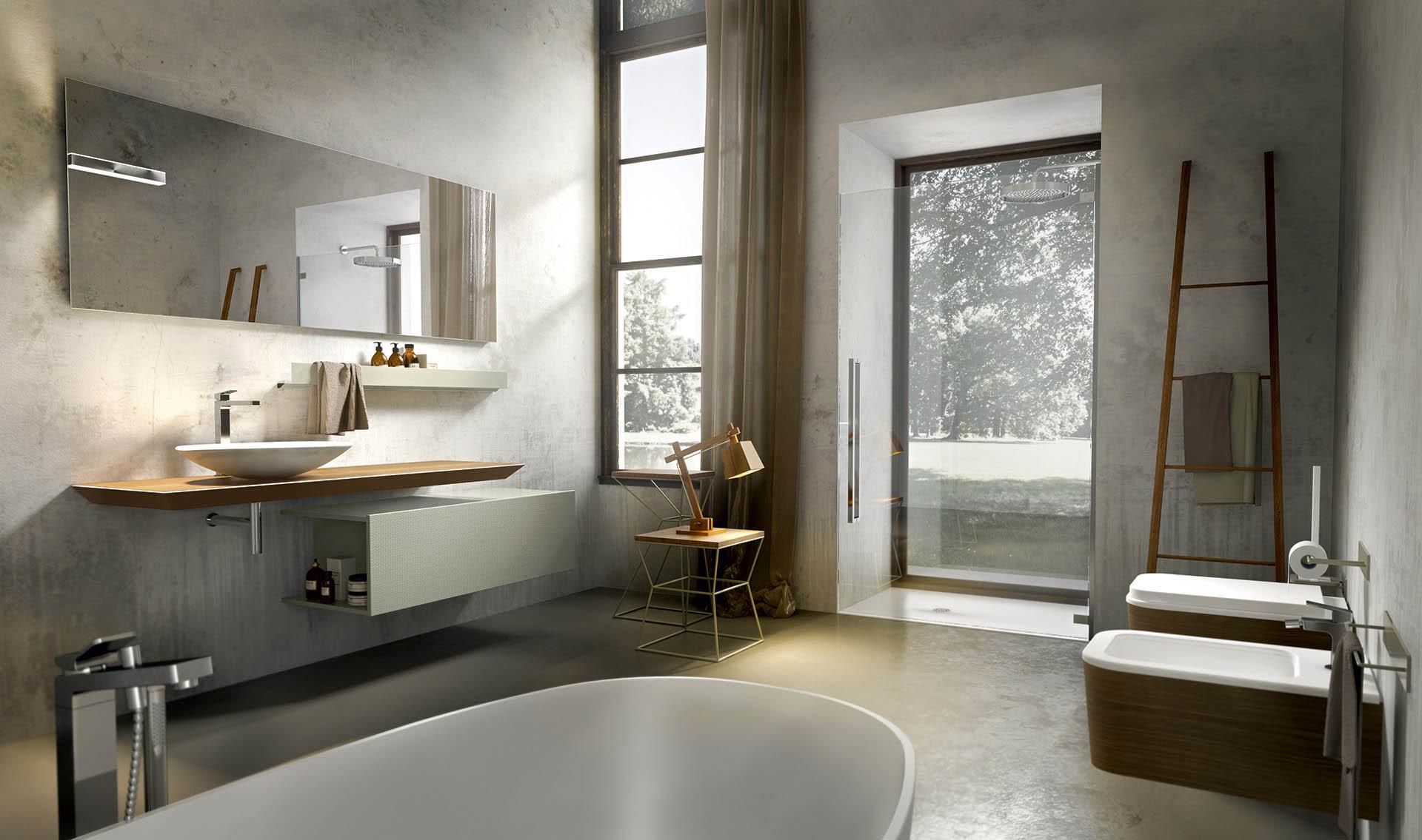 Idee Bagno Moderno Mosaico | Le Più Belle Case Moderne Del ...