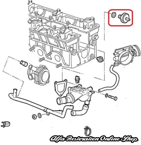 Alfa 33/75/145/146/155/164 Coolant Temperature Sensor
