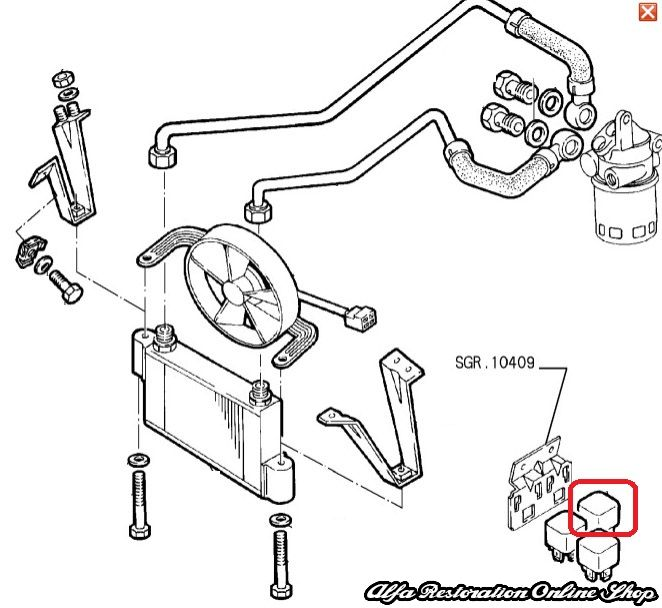 Alfa Romeo Spider Veloce Ignition Wiring Diagrams. Engine