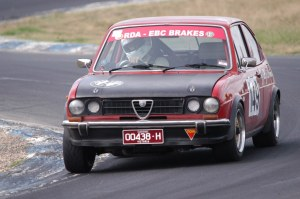 In the esses at Winton Raceway 2014