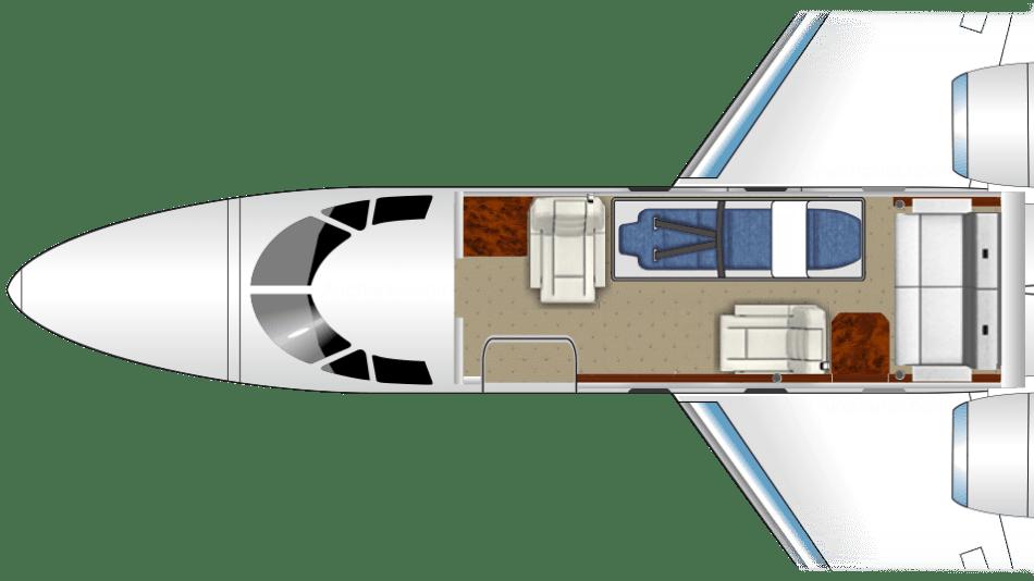 Falcon 10 vol sanitaire