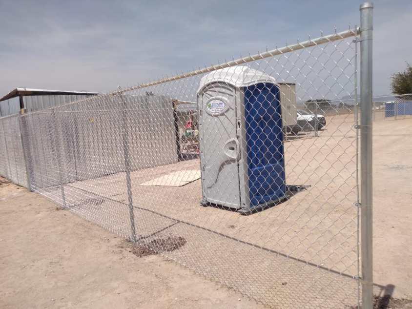 instalación de cercas de malla ciclónica