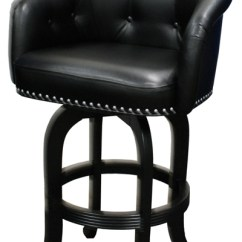 Bar Chairs With Arms And Backs Lounge Chair Ikea Comfortable Custom Height Captain S Stool Alfa Barstools 1001