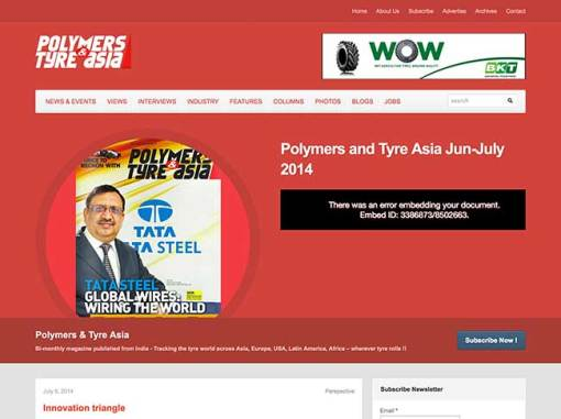 Polymers & Tyre Asia